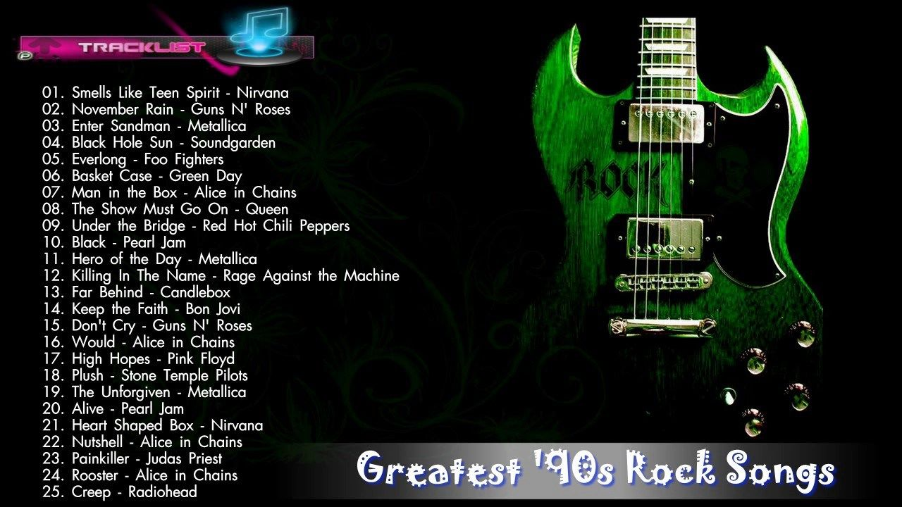 Rock songs today
