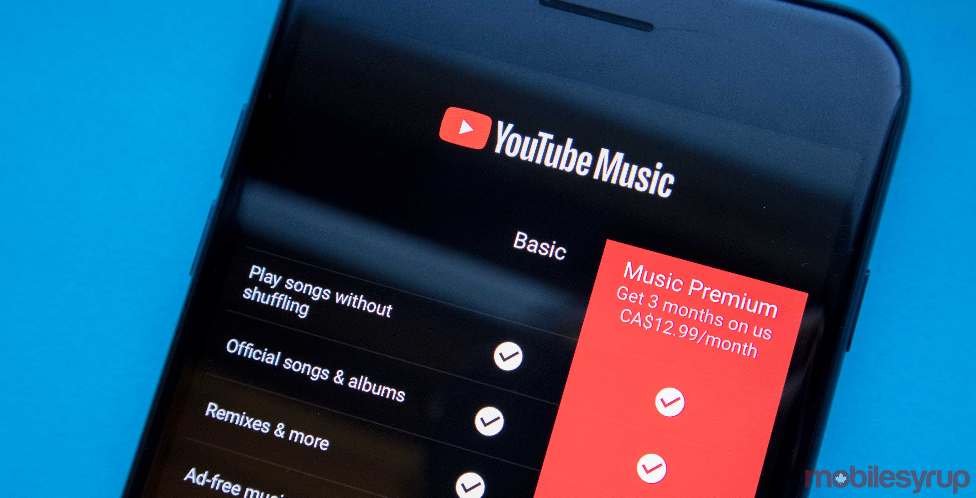 Get new youtube music
