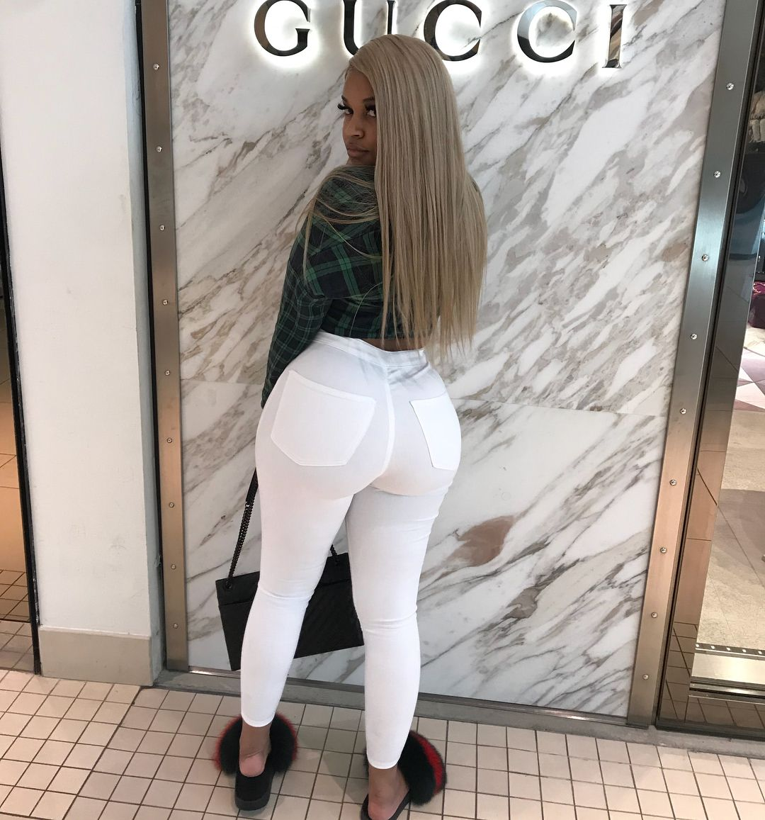 Slim girl with fat ass