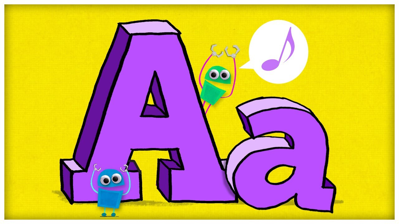 Abc song with letters