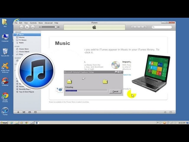 Copy itunes music to new computer