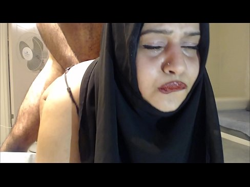 Girl cries because being fucked in ass