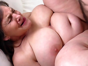 Rough sex wiyh ugly fat mature ladies