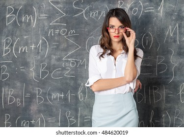 Hot college young teachers