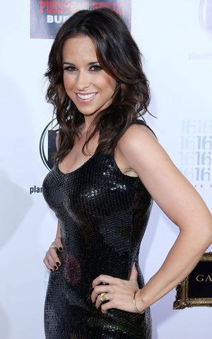 Lacey chabert in short skirt